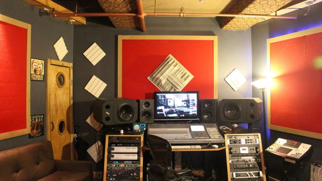 Main Control Room at SpaceLAB Recordings NYC from 2011-2017